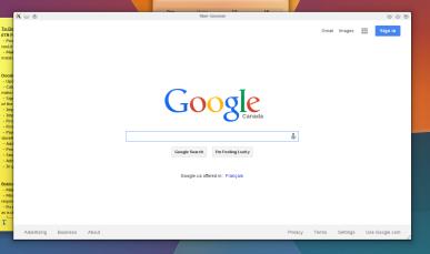 "In may day browsers had interfaces! We had Mosiac! I don't get this ""miminalism"" jive!"